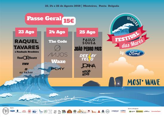 Picture de 23,24,25  Agosto 2018 - Kit 3 dias - Festival das Marés