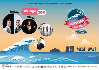 Picture de 24 Agosto 2018 - Bilhete Diário - Festival das Marés