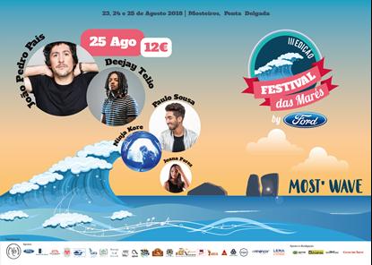 Picture de 25 Agosto 2018 - Bilhete Diário - Festival das Marés